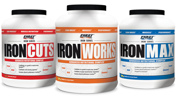 Iron Cuts, iron Works et Iron Max - First Iron Systems